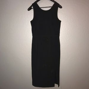 Black Ann Taylor Sheath Dress